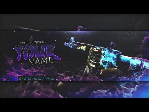 [FREE Download] CS GO Banner Template   Desolate Space
