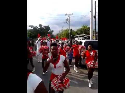 St Jude's Marching Band At Marshell Funeral Payne Land Kingston jamaica