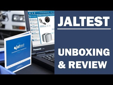 Jaltest Unboxing And Review | Multi-Brand Heavy-Duty Diagnostic Tool | BalticDiag.com