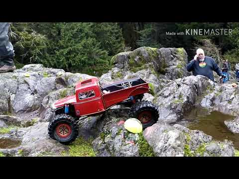 1ST SCALE COMP OF 2020 FOR PACIFIC NORTHWEST RC CRAWLERS LUCIA FALLS