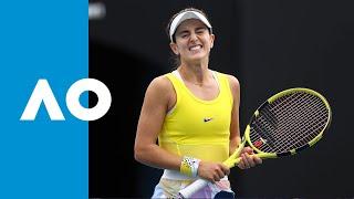 Catherine Bellis vs. Karolina Muchova - Match Highlights (2R) | Australian Open 2020