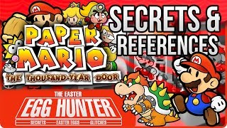 Paper Mario The Thousand Year Door Secrets & Easter Eggs - The Easter Egg Hunter
