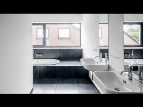Дизайн ванної кімнати.Чорно-білий сучасний дизайн.Дизайн кімнат.