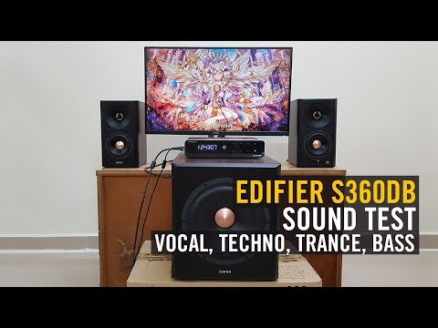 Edifier S360DB Speaker Review | Ayumilove Tech