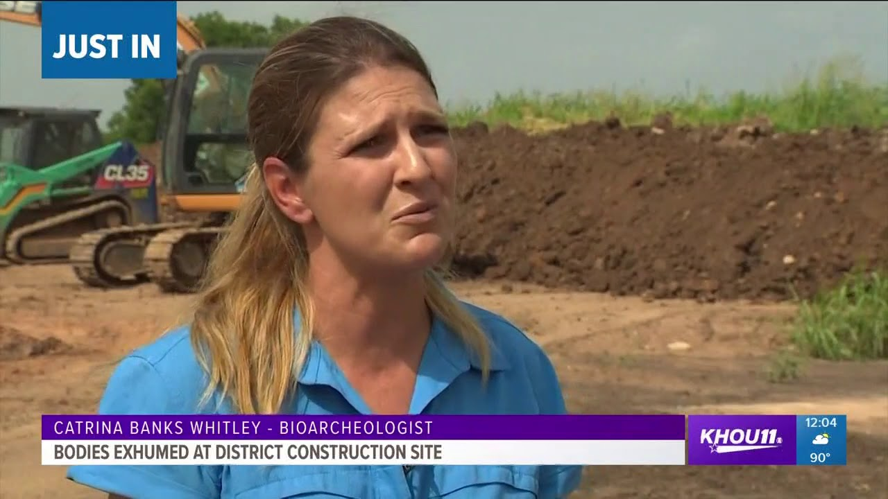 48 bodies exhumed at FBISD construction site, unmarked cemetery