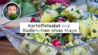 Kartoffelsalat (relativ) schnell & einfach OHNE Mayonnaise | Vegane Rezepte