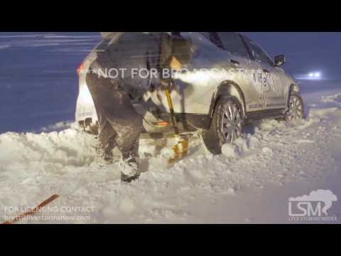 01-24-17 Beresford, SD - Heavy Snow and Winter Storm