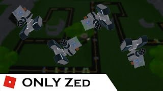 You can't get anywhere with ONLY Zed | Tower Battles [ROBLOX]