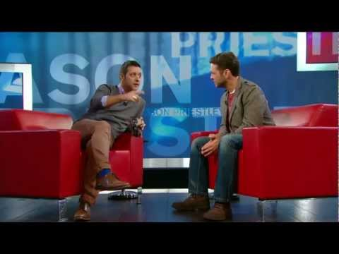 Jason Priestley on George Stroumboulopoulos Tonight: INTERVIEW
