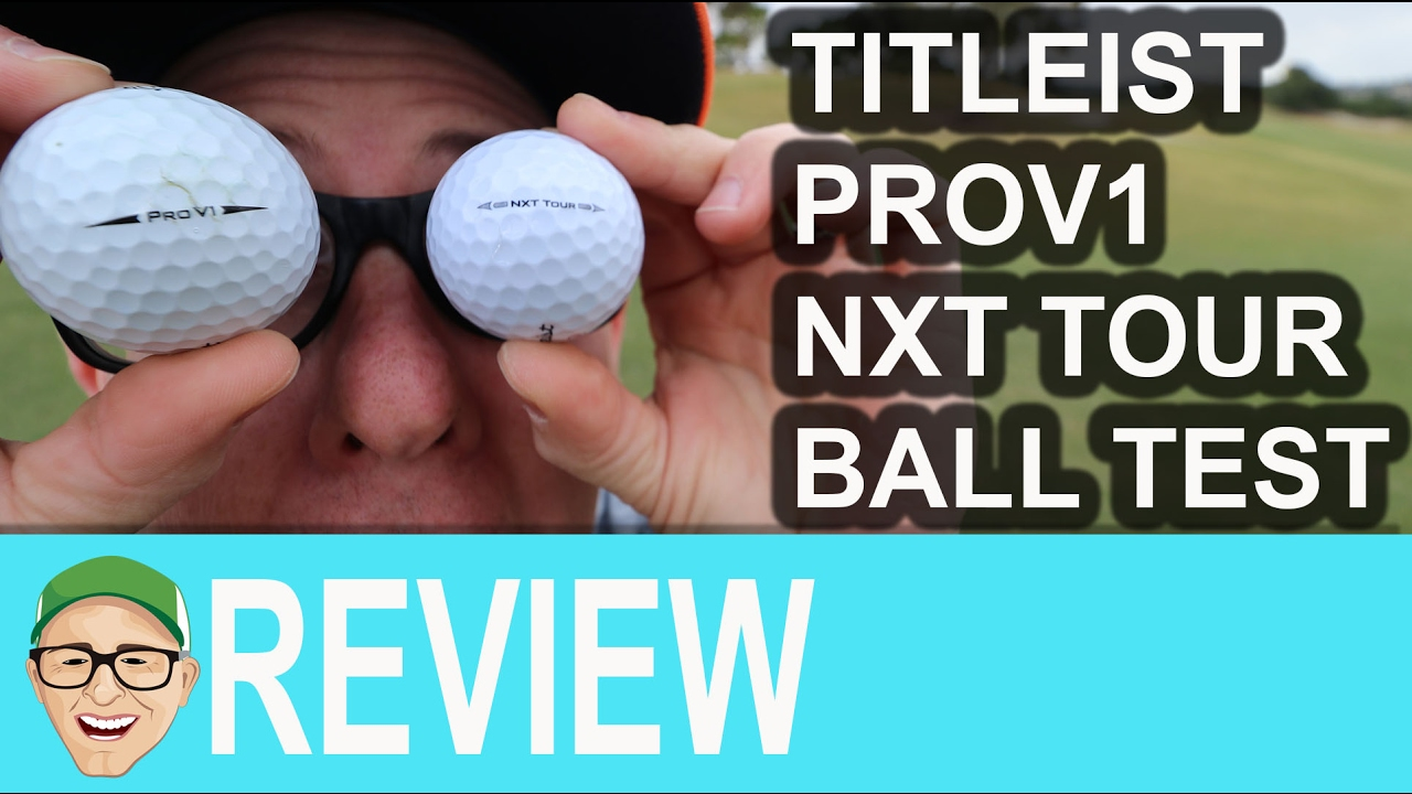 Titleist Nxt Tour Test