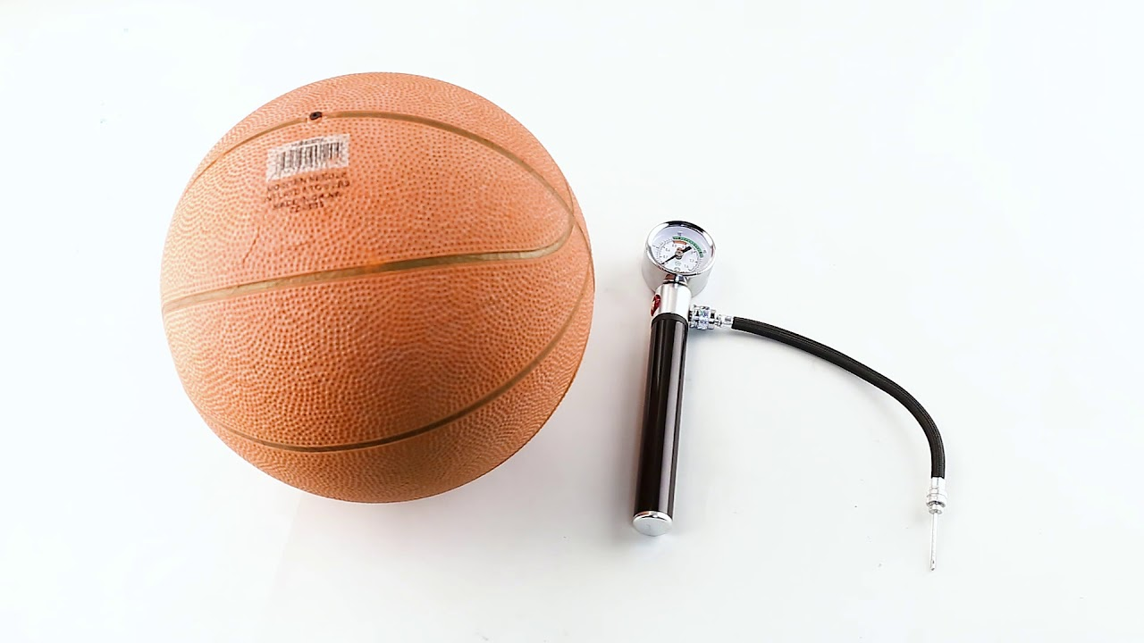 AIR PUMP W// NEEDLE BASKETBALL SOCCER BALL AIR MATTRESS HAND INFLATE VOLLEY BALL