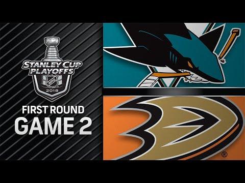 Couture, Jones lead Sharks past Ducks in Game 2