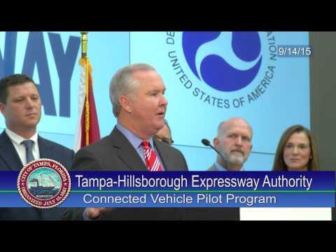 Tampa-Hillsborough Expressway Authority -  Connected Vehicle Pilot Program