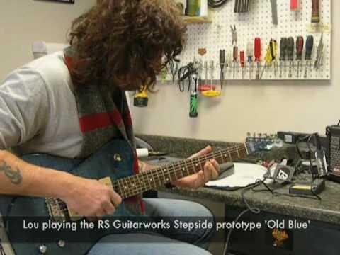 Lou Toomey Visits RS Guitarworks