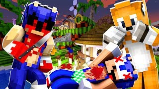 Minecraft Sonic The Hedgehog - SONIC.EXE KILLS SONIC'S FRIENDS! [55]