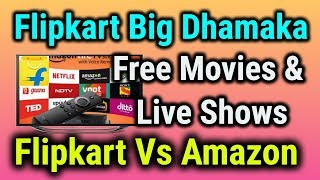 Flipkart Live Streaming Service Launch ???? Watch Free Movies And TV Shows On Your Phone ????