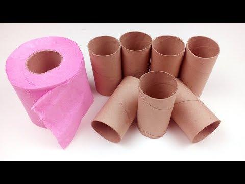 7 Best Life Hacks with Toilet Paper Rolls - DIY Organizational Hacks With Toilet Paper Towels Rolls