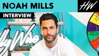"""The Enemy Within"" star Noah Mills Gives the BEST Advice to His Younger Self!! 