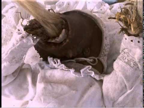 Little Otik / Otesánek (2000) - Eating Hair Scene