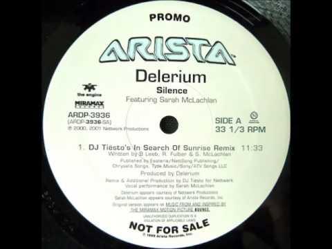 DELERIUM - Silence (Tiesto remix) 1999