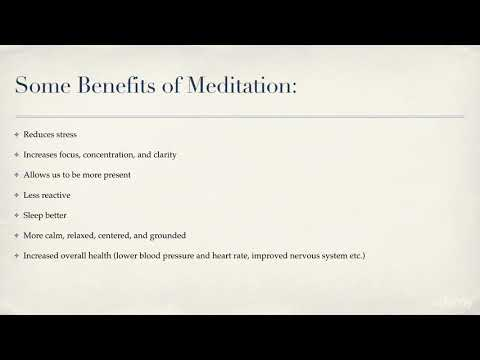Ten-Minute Meditations for Less Stress and More Joy : Benefits of Meditation