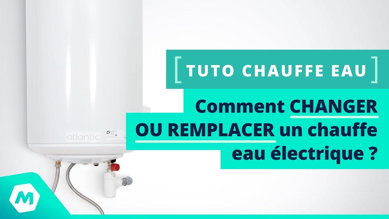 Tuto Chauffe Eau Comment Changer Ou Remplacer Un Chauffe Eau électrique Tutoriel Manomano
