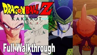 Dragon Ball Z: Kakarot - Full Gameplay Walkthrough [HD 1080P]