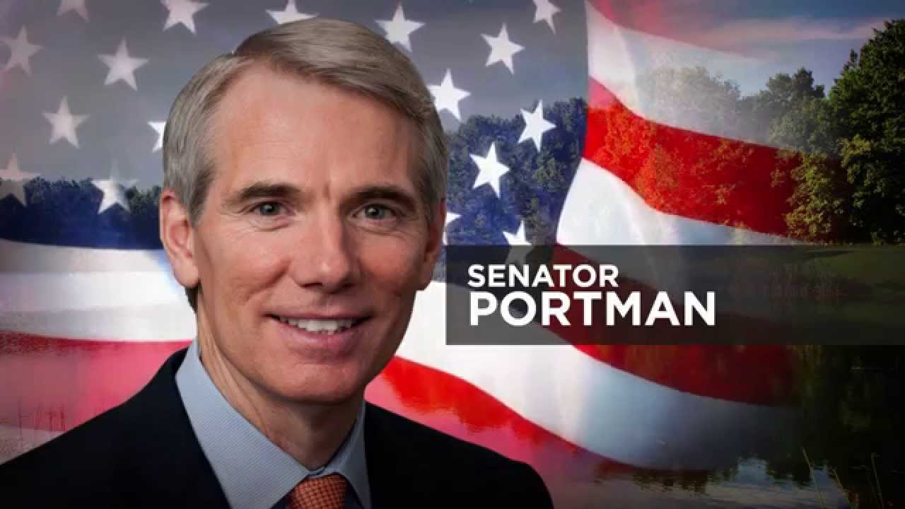 Image result for PHOTOS OF SEN ROB PORTMAN