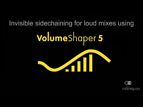 """Louder mixes using """"invisible"""" sidechaining in VolumeShaper 5"""