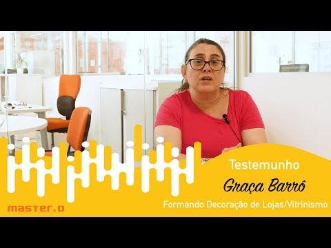 Formação Decoração de Lojas e Vitrinismo | Master D opiniõesTestemunho Graça Barrô