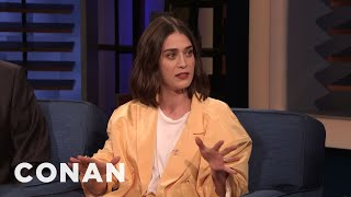 Lizzy Caplan On Elizabeth Warren Cosplayers In Rural Massachusetts - CONAN on TBS
