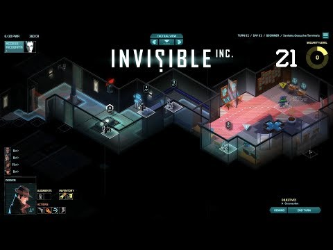 Invisible, Inc. - Let's Play #21 [German]