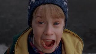 Home Alone - Kevin scream / Sám Doma Kevin křičí