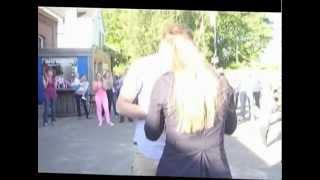 Flashmob wedding proposal // huwelijksaanzoek // Antwerpen