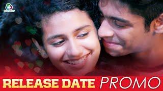 Lovers Day Release Date Promo  | Priya Prakash Varrier | Roshan Abdul | Shaan Rahman | Omar Lulu
