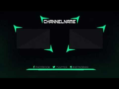 Free Photoshop Outro Template