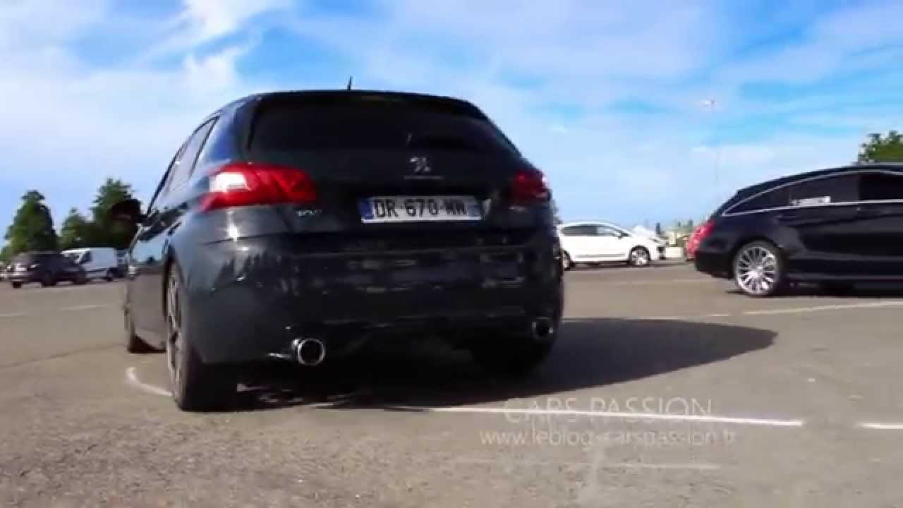 Sound Exhaust Peugeot 308 Gti 2016 Youtube