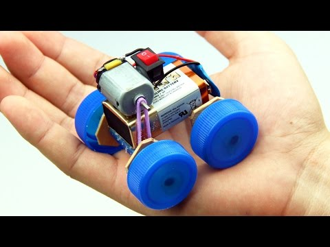 How to Make a Powered Car Very Simple - DIY Electric Mini Car