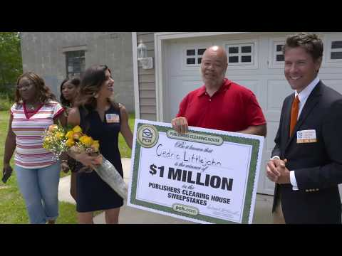 Publishers Clearing House Winners: Cedric Littlejohn From