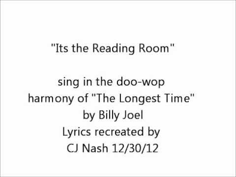Practice Sing Along: Its the Reading Room Song