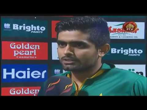 Ramiz Raja FUNNY Interview Clip With Man Of The Match Babar Azam