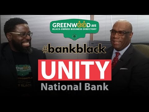 Black-owned Bank in Texas - Unity National Bank #bankblack