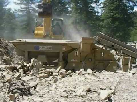 Elk Creek Sand & Gravel in Pine, Colorado.AVI