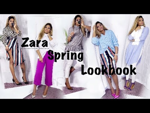 [VIDEO] - ZARA SPRING 2018 || SPRING COLLECTION  LOOKBOOK ♡ 1