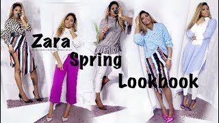 ZARA SPRING 2018 || SPRING COLLECTION  LOOKBOOK ♡