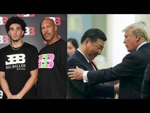 """I SHOULD HAVE LEFT THEM IN JAIL!"" says Donald Trump about Li'Angelo Ball"