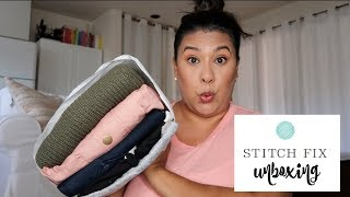 STITCH FIX UNBOXING & TRY ON II SEPTEMBER 2018