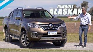 Renault Alaskan Iconic 7AT - Test - Matías Antico - TN Autos