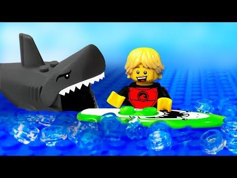 LEGO Мультики | ЛЕГО Атака Акулы