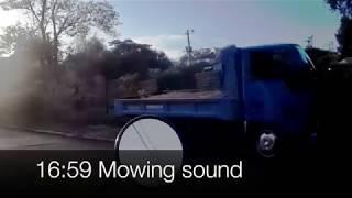 EDR September #3 2018 Suspicious black car and mowing sound
